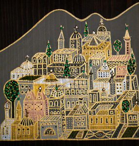 "Silvia Karamfilova Art ""A city between two sacred rivers"""