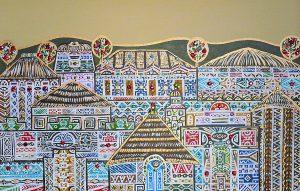 "Silvia Karamfilova Art ""A city in Africa"""