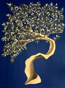 "Silvia Karamfilova Art ""Ancient olive tree"""