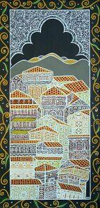 """Silvia Karamfilova Art """"Capital city"""""""