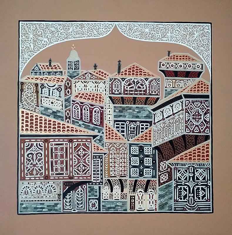 "Silvia Karamfilova Art ""Capital city II"""