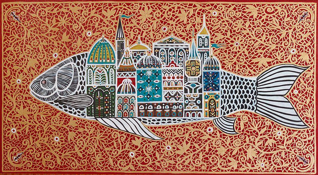 "Silvia Karamfilova Art ""Captain nemo's city"""