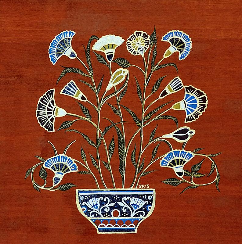 "Silvia Karamfilova Art ""Carnations"""