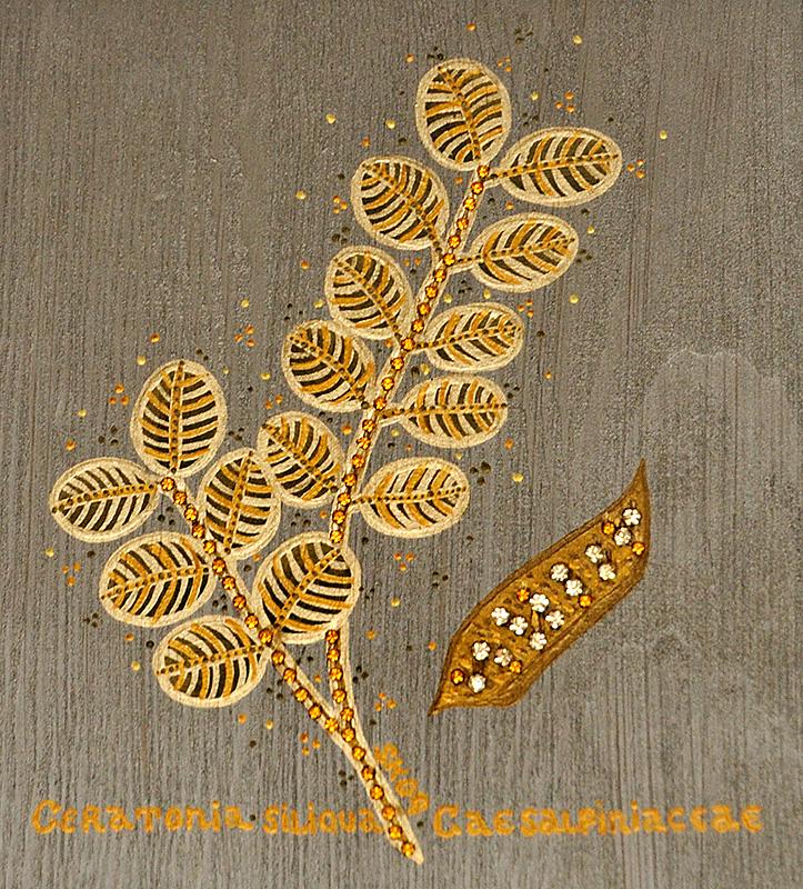 """Silvia Karamfilova Art """"Carob tree"""""""