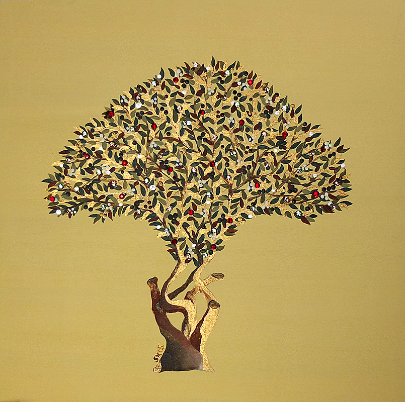 "Silvia Karamfilova Art ""Cherry Tree"""