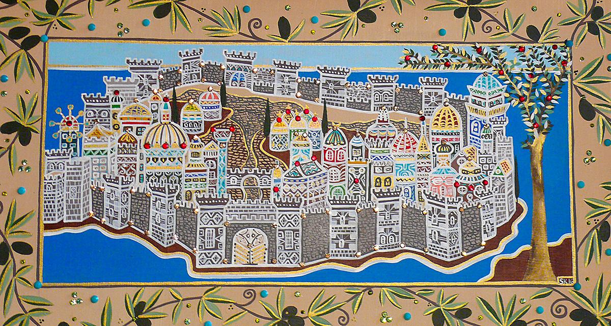 "Silvia Karamfilova Art ""City between east and west"""