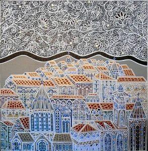 """Silvia Karamfilova Art """"City of youth"""""""