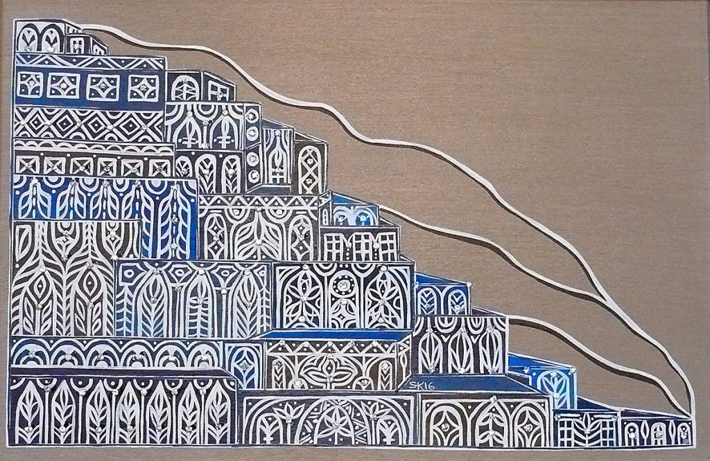 "Silvia Karamfilova Art ""Eastern city"""