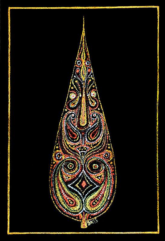 "Silvia Karamfilova Art ""Eastern cypress tree"""