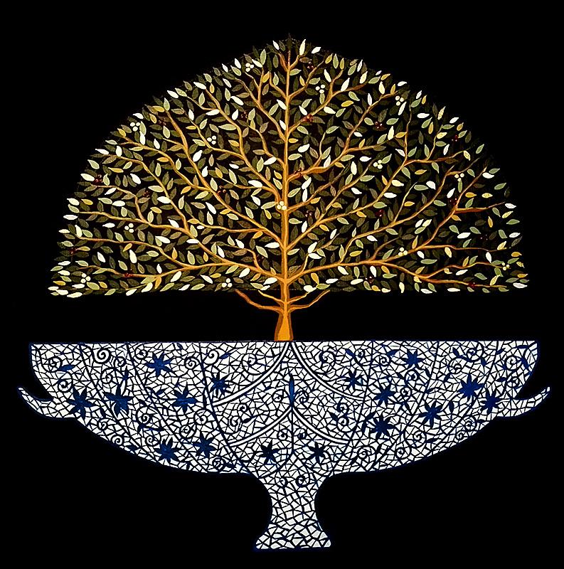 """Silvia Karamfilova Art """"Enchanted tree"""""""