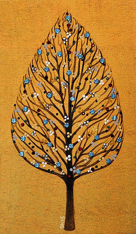 "Silvia Karamfilova Art ""Ethereal tree"""
