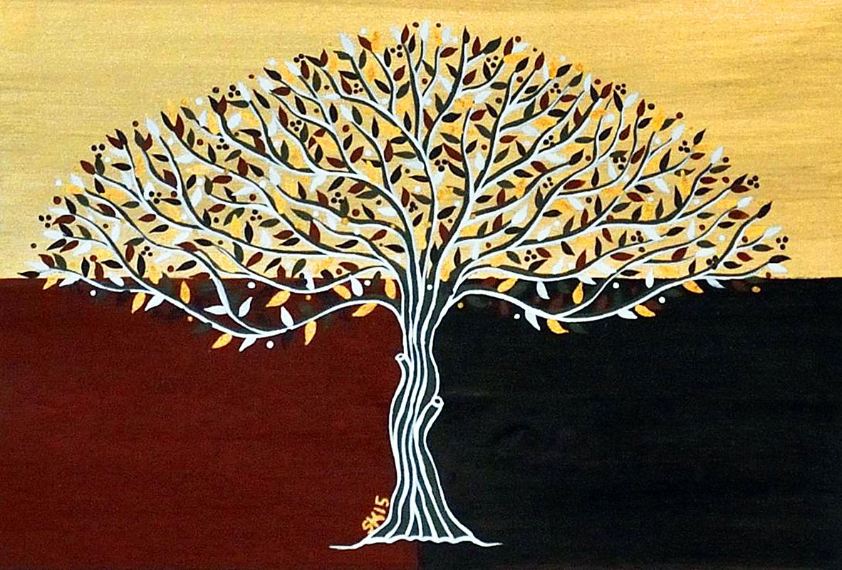 "Silvia Karamfilova Art ""Fall"""