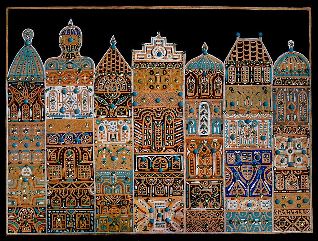 "Silvia Karamfilova Art ""Far east city"""