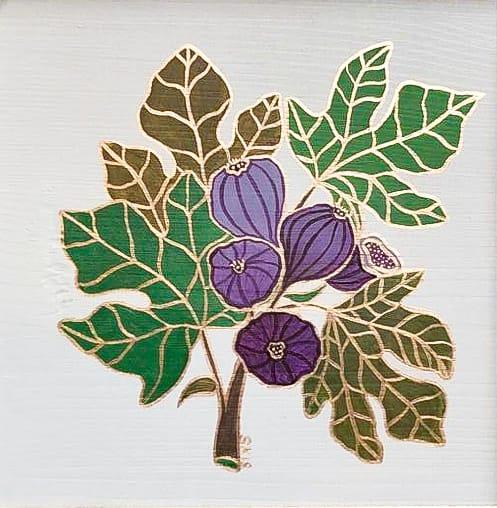 "Silvia Karamfilova Art ""Fig branch"""