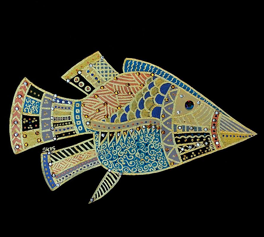 "Silvia Karamfilova Art ""Floating 1"""