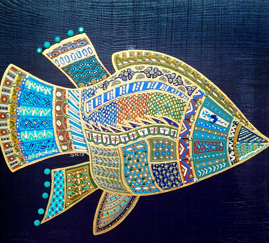"Silvia Karamfilova Art ""Floating"""
