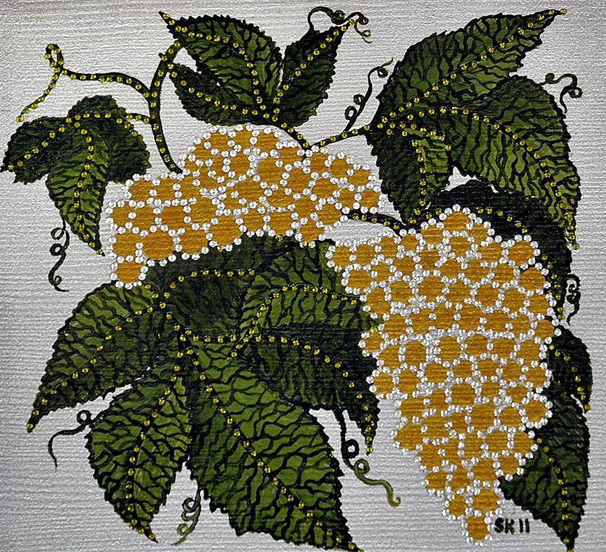 """Silvia Karamfilova Art """"Grape vine"""""""