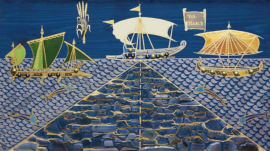 "Silvia Karamfilova Art ""Harbour via maris"""