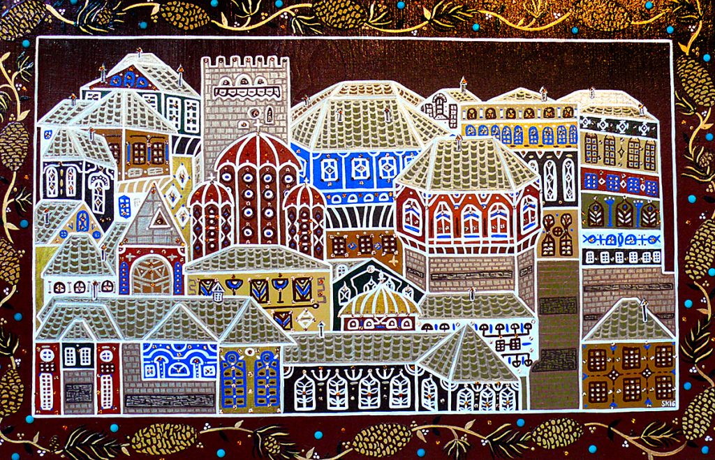 "Silvia Karamfilova Art ""Holy mountain"""