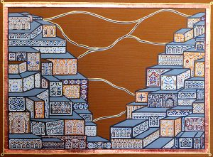 "Silvia Karamfilova Art ""Kurdish settlement"""
