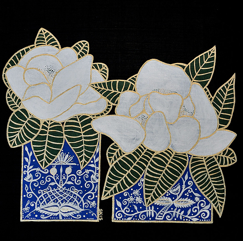 "Silvia Karamfilova Art ""Lilies"""