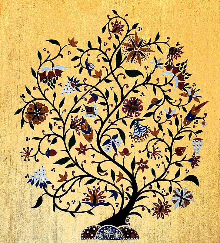 "Silvia Karamfilova Art ""Miniature Branch"""