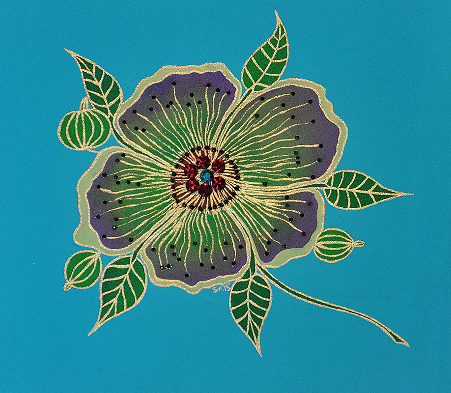 "Silvia Karamfilova Art ""Passiflora 2"""