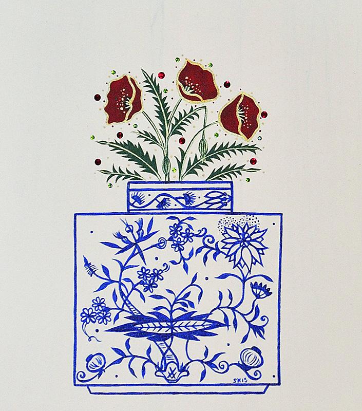 "Silvia Karamfilova Art ""Poppy flowers"""