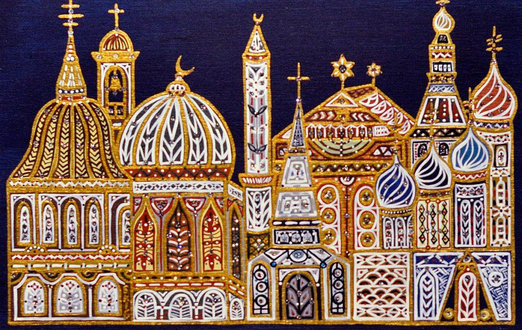 "Silvia Karamfilova Art ""Religions II"""