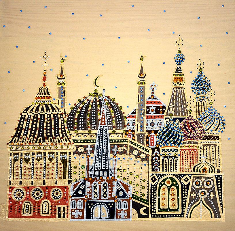 """Silvia Karamfilova Art """"Religions"""""""