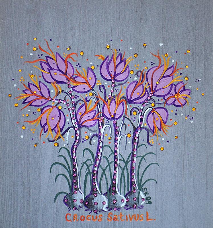 """Silvia Karamfilova Art """"Saffron"""""""