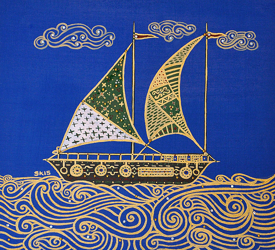 "Silvia Karamfilova Art ""Sailing"""