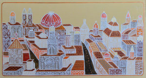 "Silvia Karamfilova Art ""Shining City"""