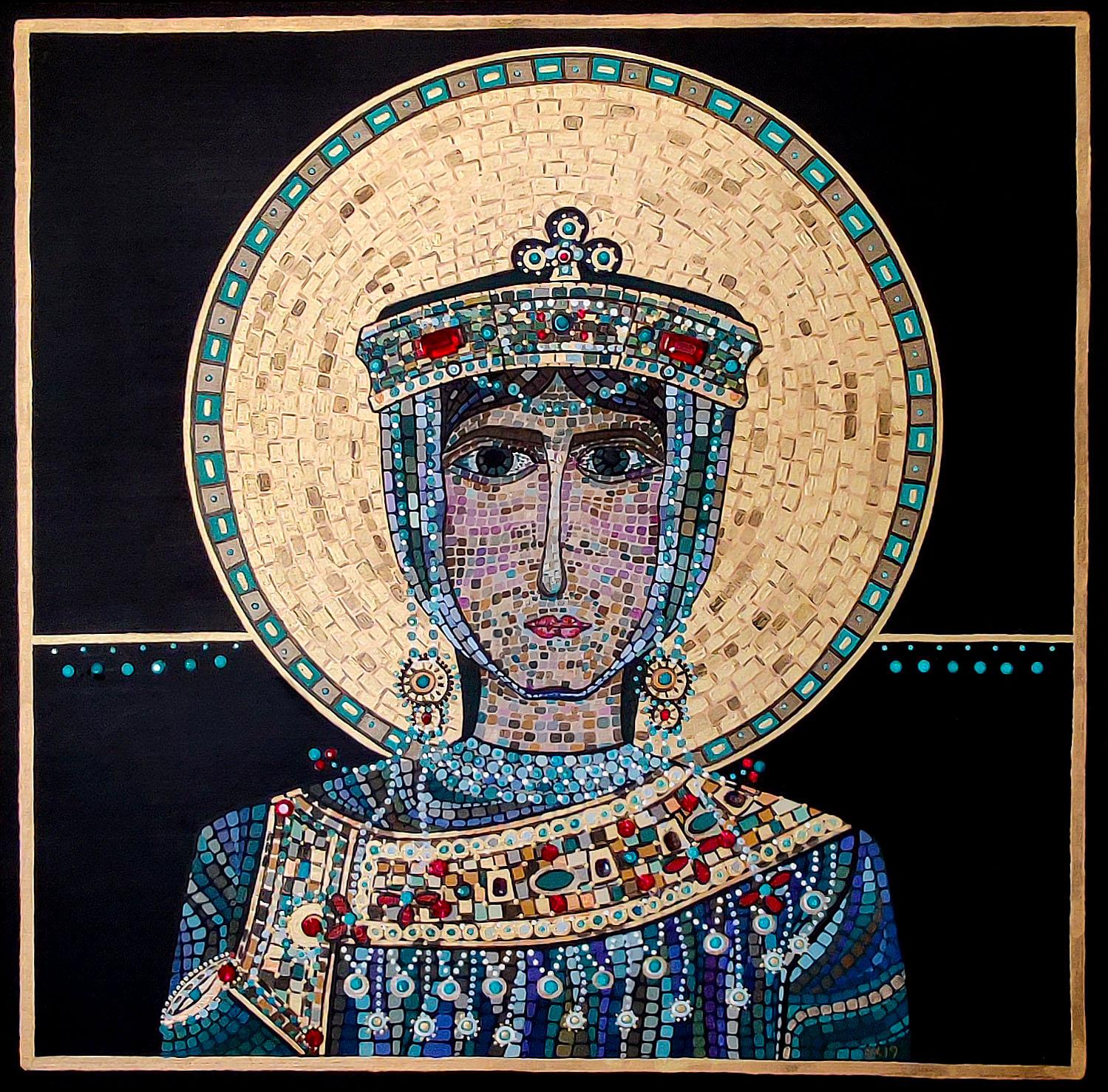 """Silvia Karamfilova Art """"St Eudokia"""""""