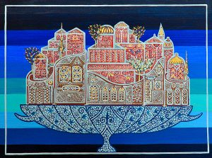 """Silvia Karamfilova Art """"The abundance of city life"""""""