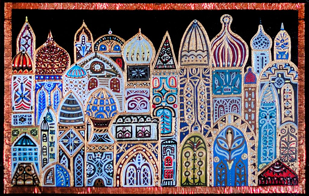 "Silvia Karamfilova Art ""The city of 1001 night"""