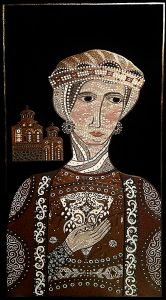 "Silvia Karamfilova Art ""The female ruler"""