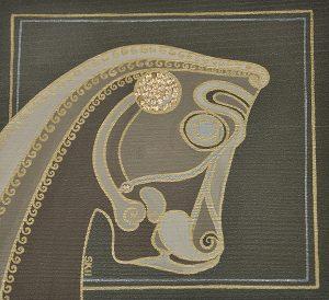 "Silvia Karamfilova Art ""The gatekeeper at the gate of nations Persepolis Iran"""