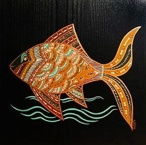 "Silvia Karamfilova Art ""The golden fish II"""