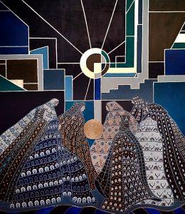 "Silvia Karamfilova Art ""The keepers of the light"""