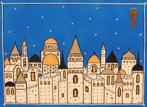 """Silvia Karamfilova Art """"The key white city"""""""