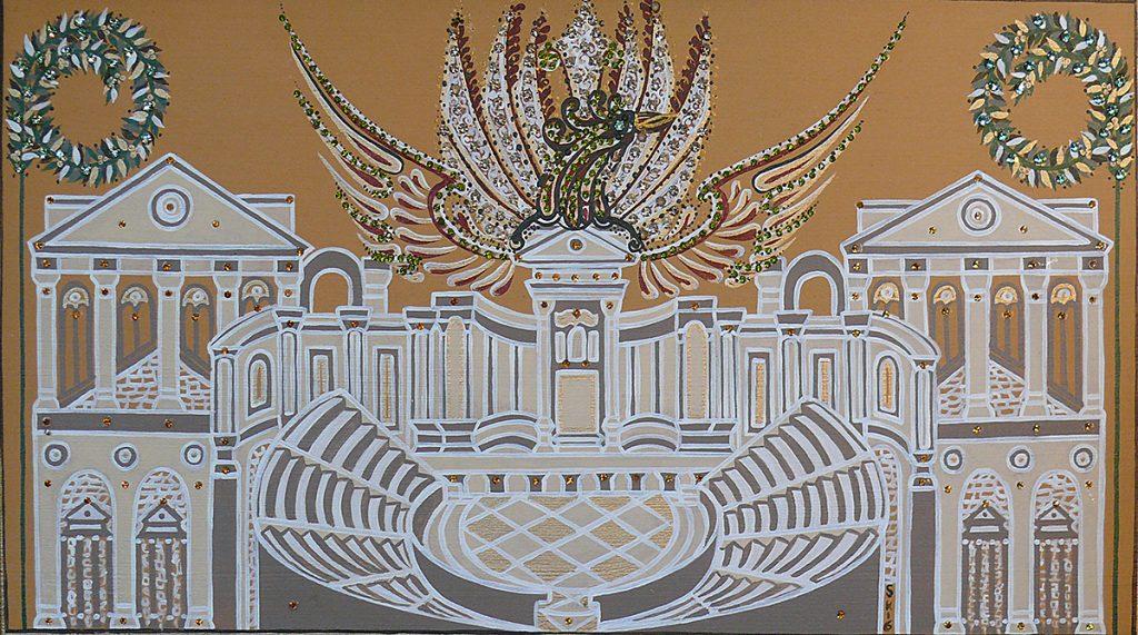 "Silvia Karamfilova Art ""The rising city"""