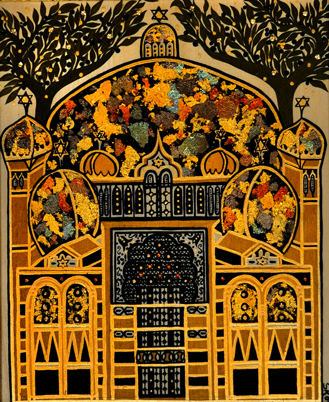"Silvia Karamfilova Art ""The synagogue in sofia"""