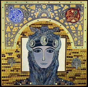 "Silvia Karamfilova Art ""The trigger woman"""