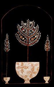 "Silvia Karamfilova Art ""Three trees in vases"""