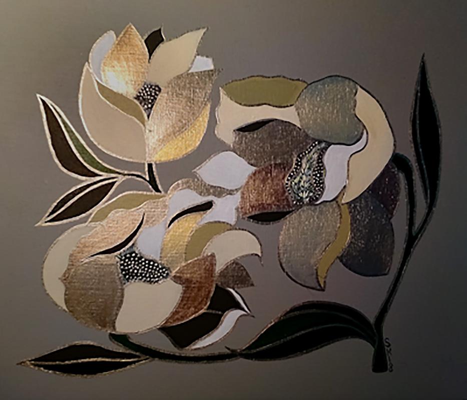 "Silvia Karamfilova Art ""Water lilies"""