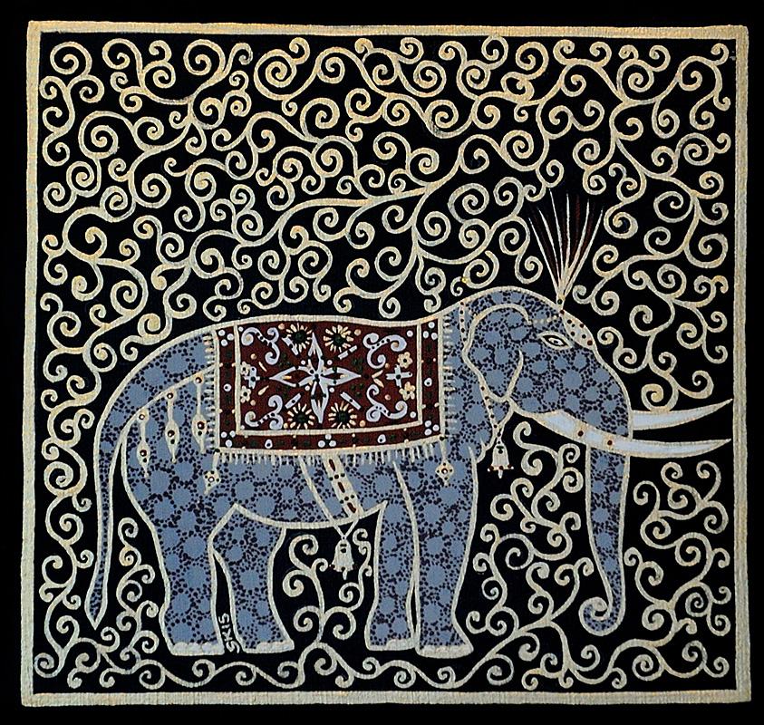 """Silvia Karamfilova Art """"Wisdom elephant"""""""