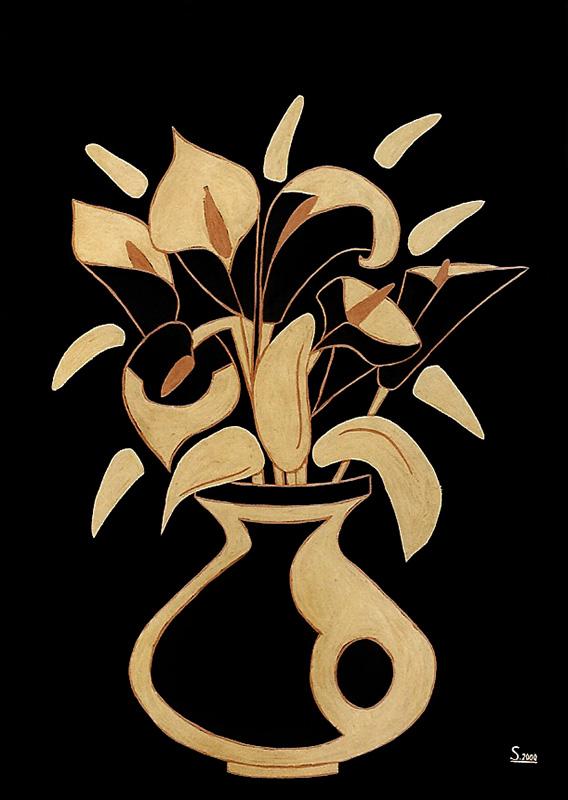 "Silvia Karamfilova Art ""Bouquet"""
