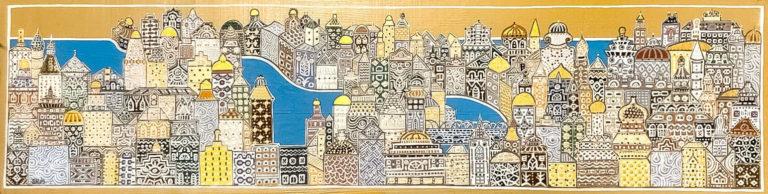 "Silvia Karamfilova Art ""City of stories"""
