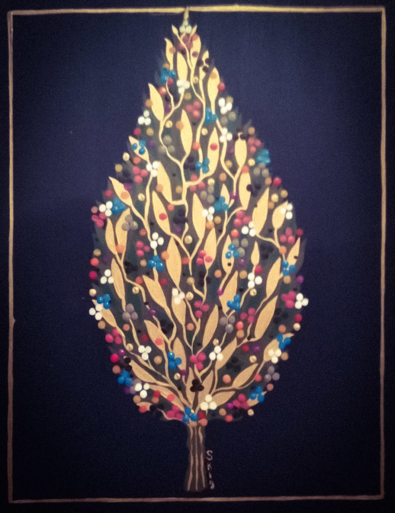 """Silvia Karamfilova Art """"Decorative branch 3"""""""